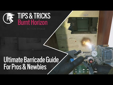 Ultimate Barricade Guide - With Subtitles