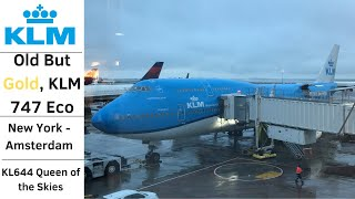 (Flight Review) KLM 747-400 Economy Class New York (JFK) to Amsterdam (AMS) KL644