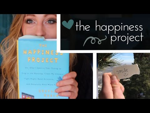 ☾ The Happiness Project & Your Project 2021 ❤  Gretchen Rubin
