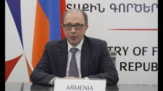 Statement by Ara Aivazian, Foreign Minister of Armenia, at the High Level Segment of the 46th Session of the United Nations Human Rights Council