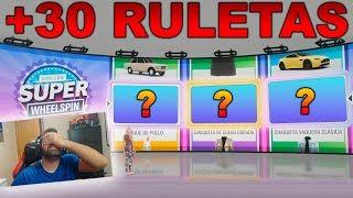 Tirando +30 Ruletas Wheelspin! Me tapo los ojos y me toca premiazo! | Forza Horizon 4 | BraxXter