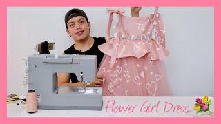 PART 1 : DIY Flower Girl Dress | RodIanBulong#22