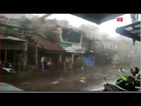 Mengerikan! Detik-detik Angin Puting Beliung Porak-porandakan Wilayah Batutulis Bogor - 06/12