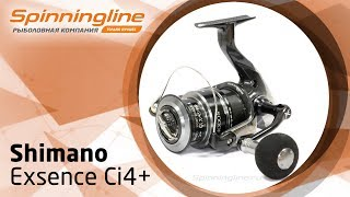 Shimano 18 exsence ci4 c3000m обзор