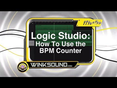 Logic Pro: How To Use the BPM Counter | WinkSound