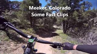 Meeker trails are fast!