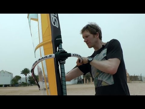 surf-Tutorial: Windsurf-Segel trimmen und tunen
