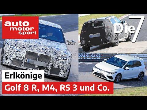 VW Golf 8 R, BMW M4, Audi RS 3 und Co.: 7 spannende Erlkönige im Frühjahr | auto motor und sport