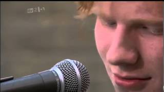 Ed Sheeran - Hometown Glory - iTunes Festival - ITV 2 08/07/11