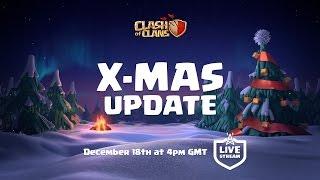 Clash of Clans Update stream in 1 Hour!!