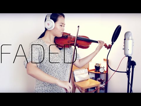 FADED | ALAN WALKER | FREESTYLE VIOLIN COVER | LEAH H LI Mp3