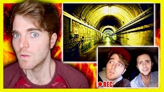 HAUNTED UNDERGROUND TUNNELS!