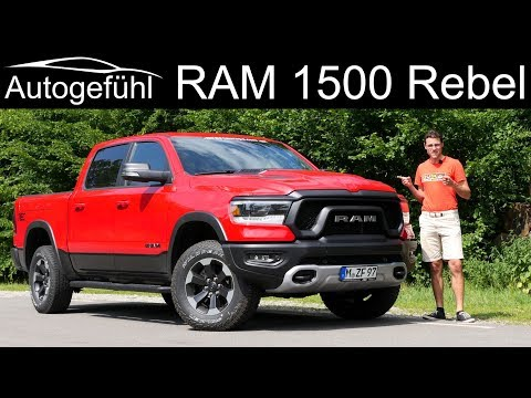 RAM 1500 Rebel FULL REVIEW pickup truck 2019 - Autogefühl