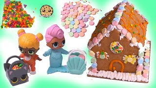 Cookie Gingerbread Candy Halloween House! Real Food Craft Kit