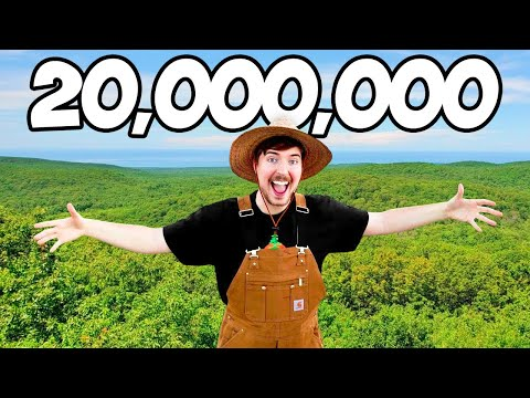 , title : 'Planting 20,000,000 Trees, My Biggest Project Ever!