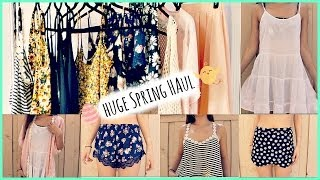 Huge Spring Haul Part 2   Forever 21, Fashion Q, Gstage (Try On)