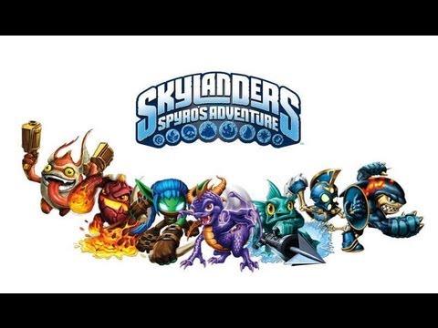 skylanders spyro's adventure pc gameplay