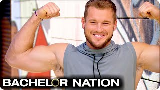 Colton And The Girls Workout With The Crews' | The Bachelor US