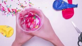 Paper Shoot! ทำเครื่องยิงกระดาษ พลุกระดาษ งานปาร์ตี้ DIY