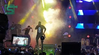 Wizkid Brings Out Chinko Ekun On Stage At His Made In Lagos Fest