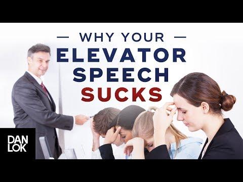 Why Your Elevator Speech Sucks And How To Fix It | Premium Package Secrets Ep. 6