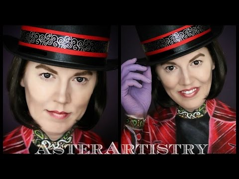 Willy Wonka Makeup Transformation!!!