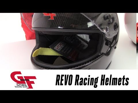 In the Garage w/ Parts Pro: G-FORCE Racing Gear REVO Helmets