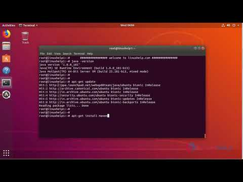 How to Install Apache Maven on Ubuntu 18 04 | LinuxHelp Tutorials
