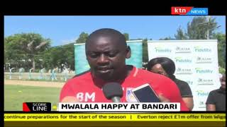 Coach Bernard Mwalala happy to be at Bandari FC