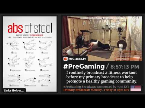 Download #PreGaming: DAREBEE Abs of Steel Workout 💪 Mp4 HD Video and MP3