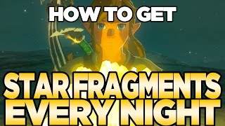 Easy Guaranteed Farming for Star Fragments EVERY Night in Breath of the Wild | Austin John Plays
