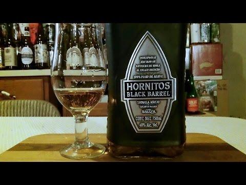 Hornitos Black Barrel Añejo Tequila (80 Proof) DJs BrewTube Booze Review #10