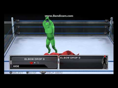 Download WWE SVR 11 PSP Brock Lesnar Moveset HD Mp4 3GP Video and MP3