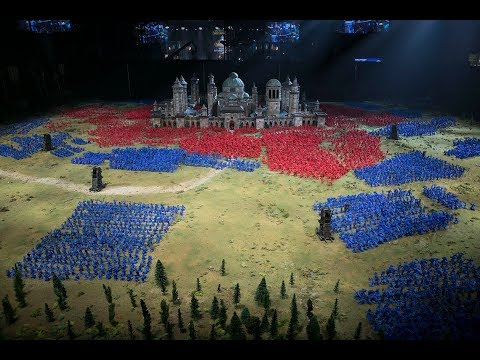 Battle for Lordaeron Diorama - Blizz Scores Guinness World Record