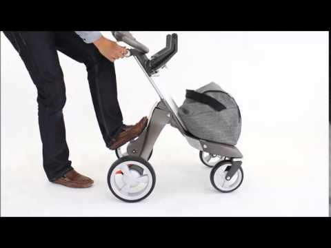 How to fold the Stokke® Xplory® stroller