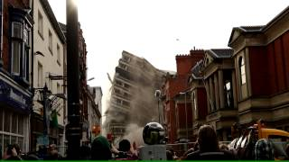 preview picture of video 'Leicester City Council building demolition'