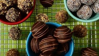 Fruit & Nut Balls Recipe Demonstration – Joyofbaking.com
