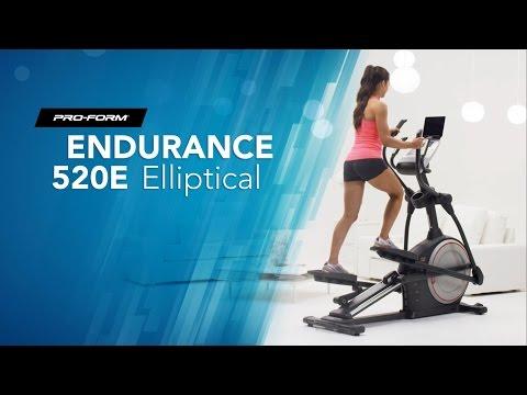 Endurance 520E Elliptical