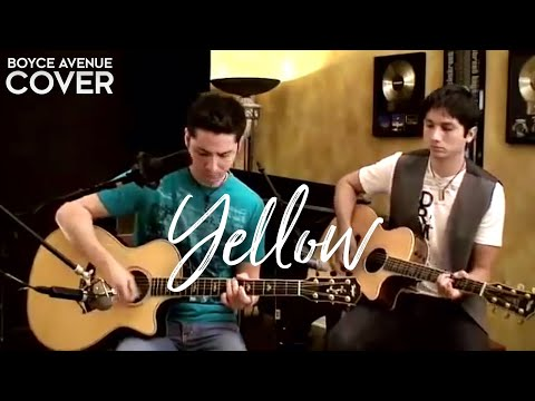 Coldplay - Yellow (Boyce Avenue Acoustic Cover) On Spotify & Apple Mp3