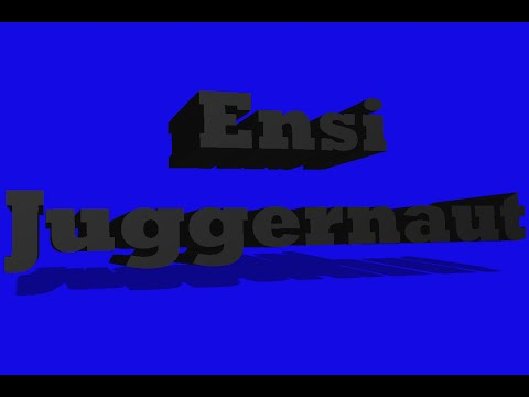 Ensi - Juggernaut Testo (Lyric video)