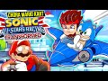 Corrida Do Sonic Melhor Que Mario Kart Sonic All stars