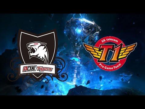 Live 22/6/2017 : SKT vs ROX (LCK Summer 2017) | Rox Tigers vs SK Telecom T1