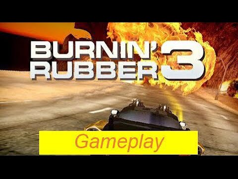 Burnin Rubber 5 HD Modding: Taxi Battles (Boss level) - смотреть