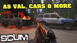 Vehicles , As Val, Capture the Flag, Lag FIX, Animations, New Lighting and MORE - SCUM PATCH NOTES