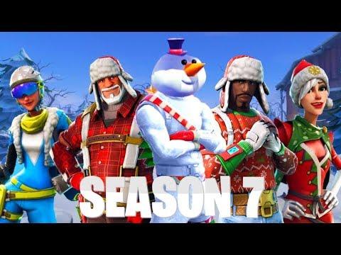 New Season 7 Battlepass Leaks Fortnite Christmas Event 2018 Dr