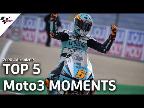 Moto3 テルエルGPの決勝レースで気になるシーンを集めたハイライト動画