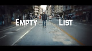 Python How to check if a list is empty || Python Tutorial