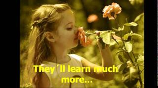 WHAT A WONDERFUL WORLD (Louis Armstrong special movie) -LYRICS