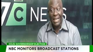 NBC monitors broadcast stations ahead of Osun governorship election