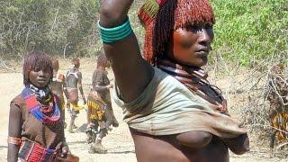 Ethiopia - Hamar tribe - Bull Jumping Ceremony